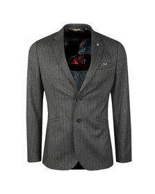 Ted Baker Mens Grey Semi Plain Jacket