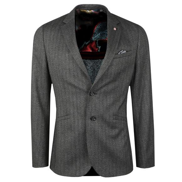 Ted Baker Mens Grey Semi Plain Jacket