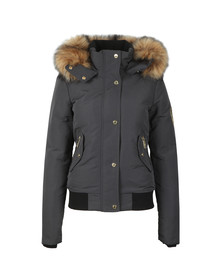 Holland Cooper Womens Grey Cortina Bomber