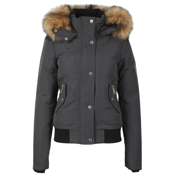 Holland Cooper Womens Grey Cortina Bomber main image