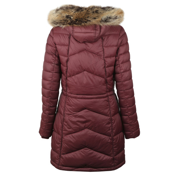 Barbour Lifestyle Womens Purple Hamble Quilted Jacket main image