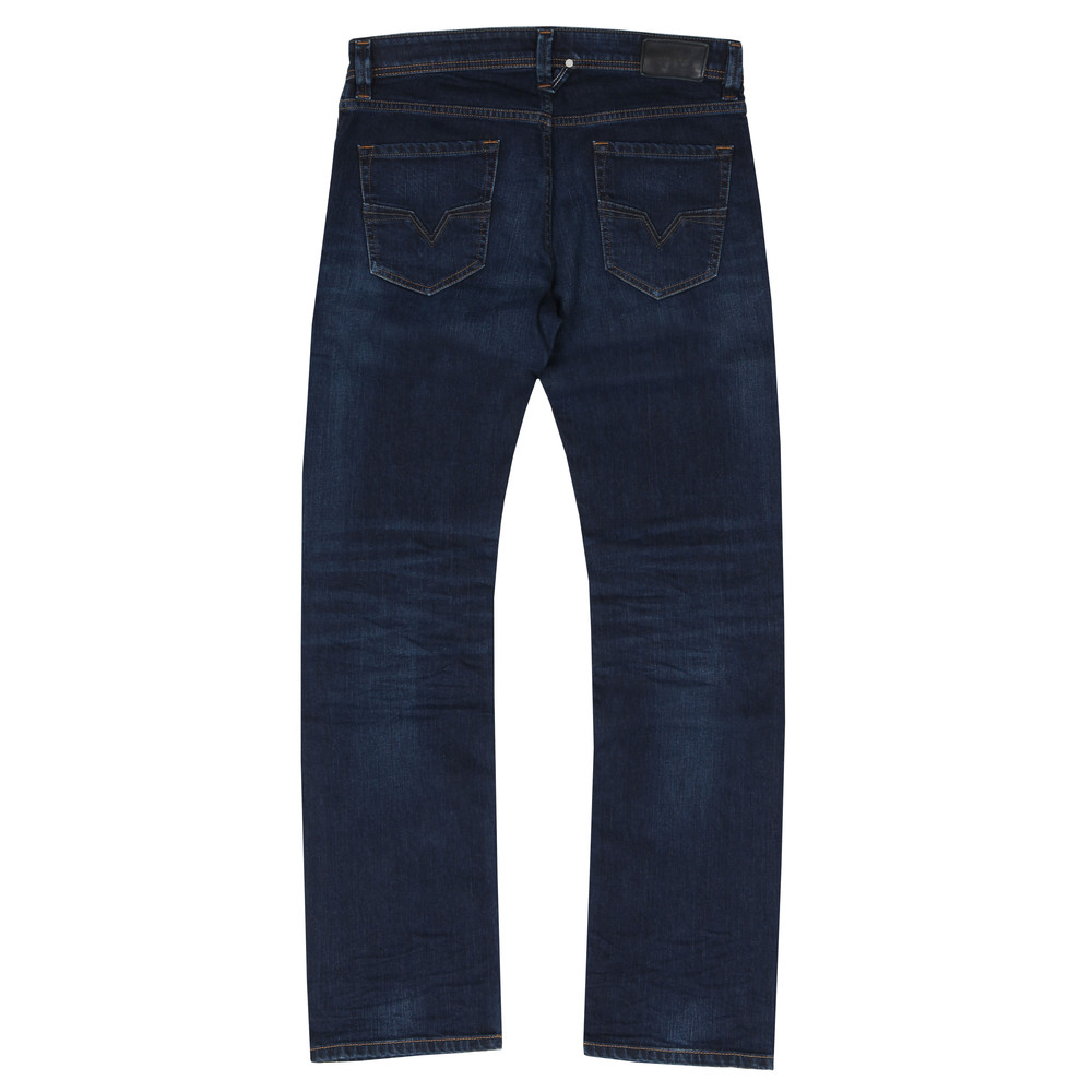 9856b8fb Diesel Mens Blue Larkee 084VG Straight Jeans main image. Loading zoom