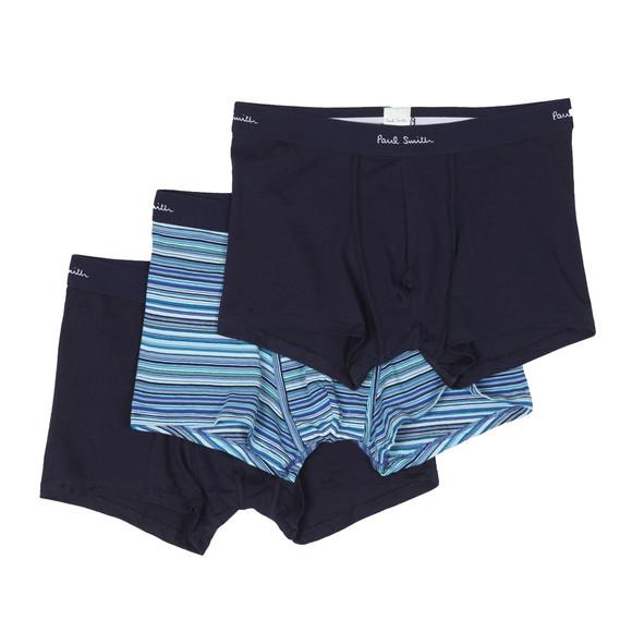 Paul Smith Mens Blue 3 Pack Multi Stripe Trunk