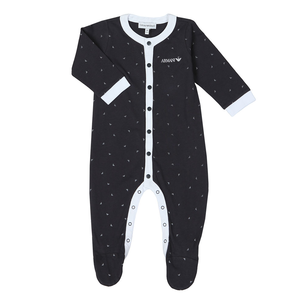 Eagle Print Baby Grow main image