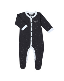 Emporio Armani Baby Boys Blue Eagle Print Baby Grow