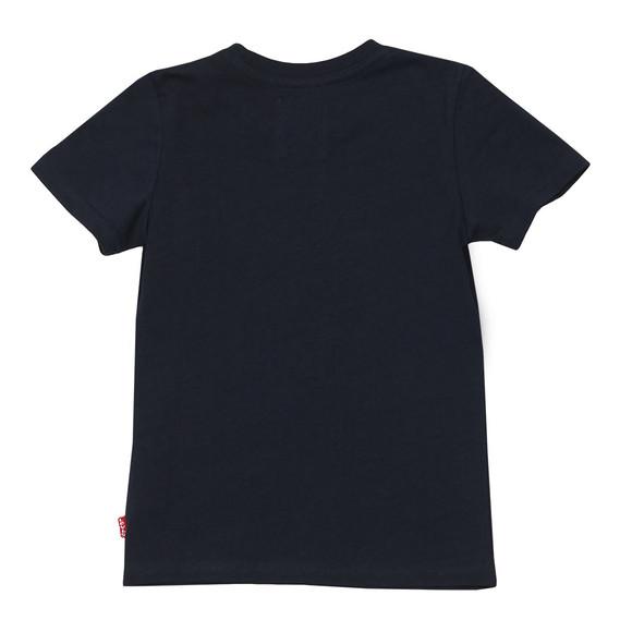 Levi's Boys Blue Batwing Logo T Shirt main image