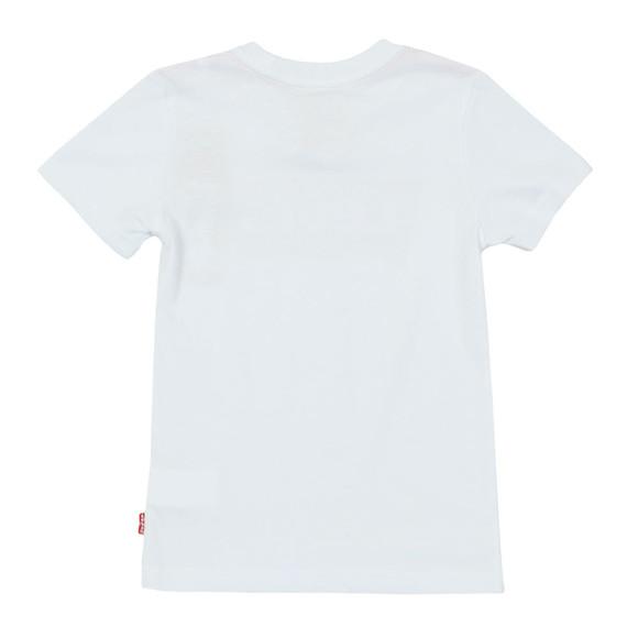 Levi's Boys White Batwing Logo T Shirt main image