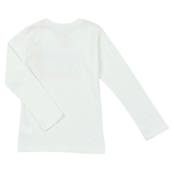 Levi's Boys White Boys Heroel Long Sleeve T Shirt main image