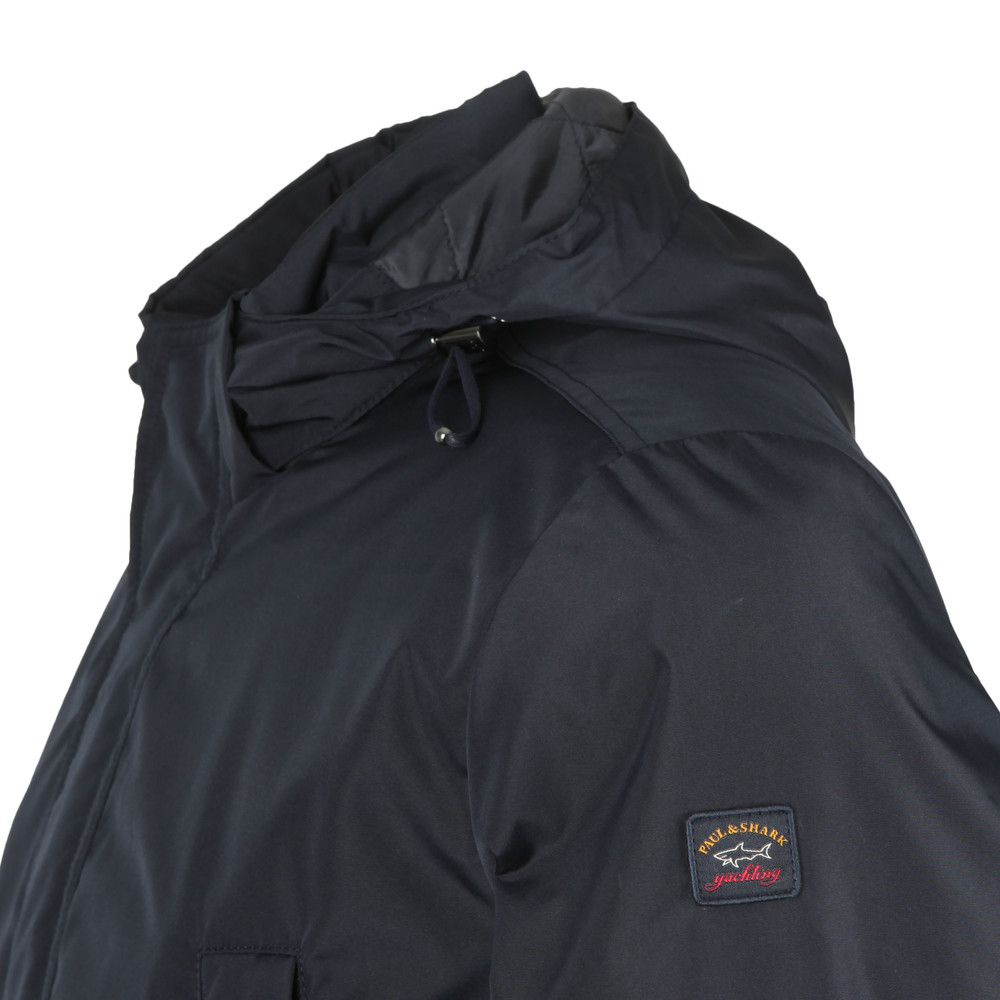 Yachting Series Hooded Mid Length Jacket main image