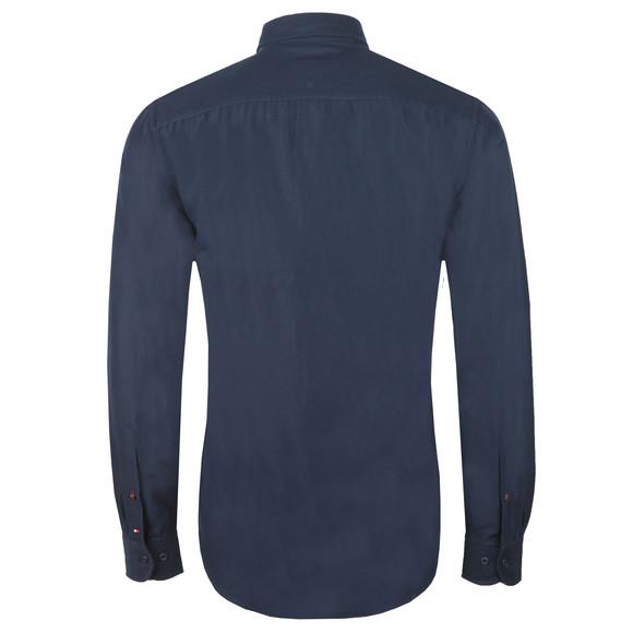 Tommy Hilfiger Mens Blue L/S Chenile Engineered Shirt main image