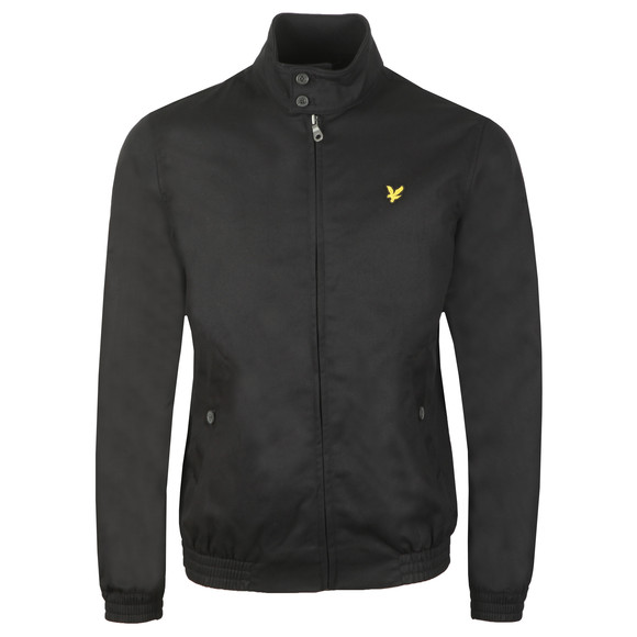 Lyle and Scott Mens Black Harrington Jacket main image