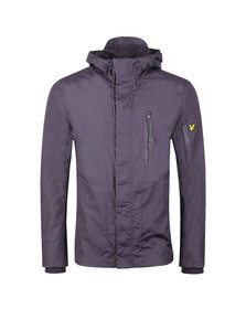 Lyle and Scott Mens Purple Minimal Jacket