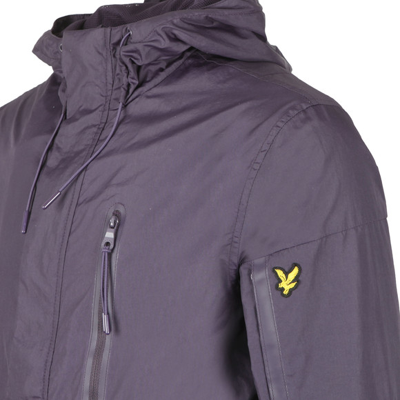 Lyle and Scott Mens Purple Minimal Jacket main image