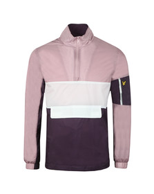 Lyle and Scott Mens Pink Overhead Jacket