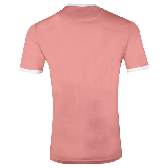 Lyle and Scott Mens Pink S/S Ringer Tee main image