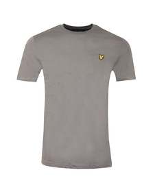 Lyle and Scott Mens Grey Basic Tee