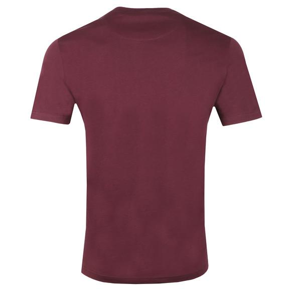 Lyle and Scott Mens Red Basic T-Shirt main image