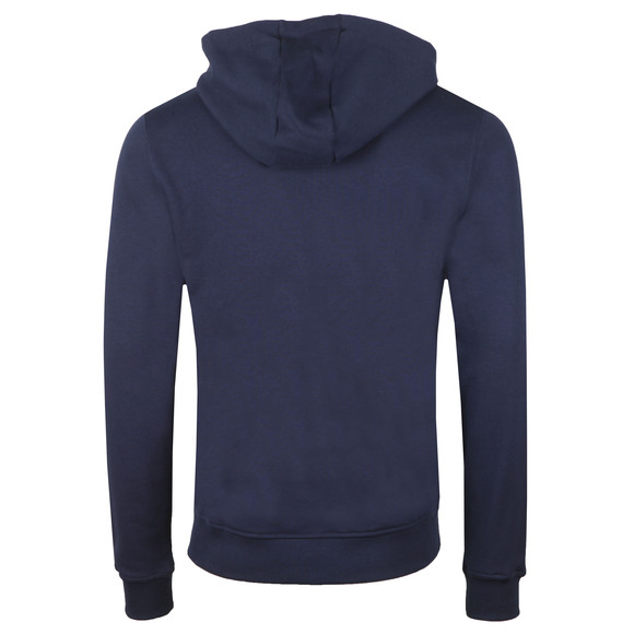 Lyle and Scott Mens Blue Full Zip Hooded Sweat main image