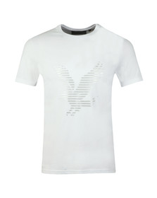 Lyle and Scott Mens White S/S Logo Tee