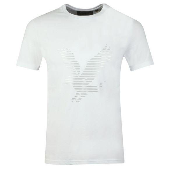Lyle and Scott Mens White S/S Logo Tee main image