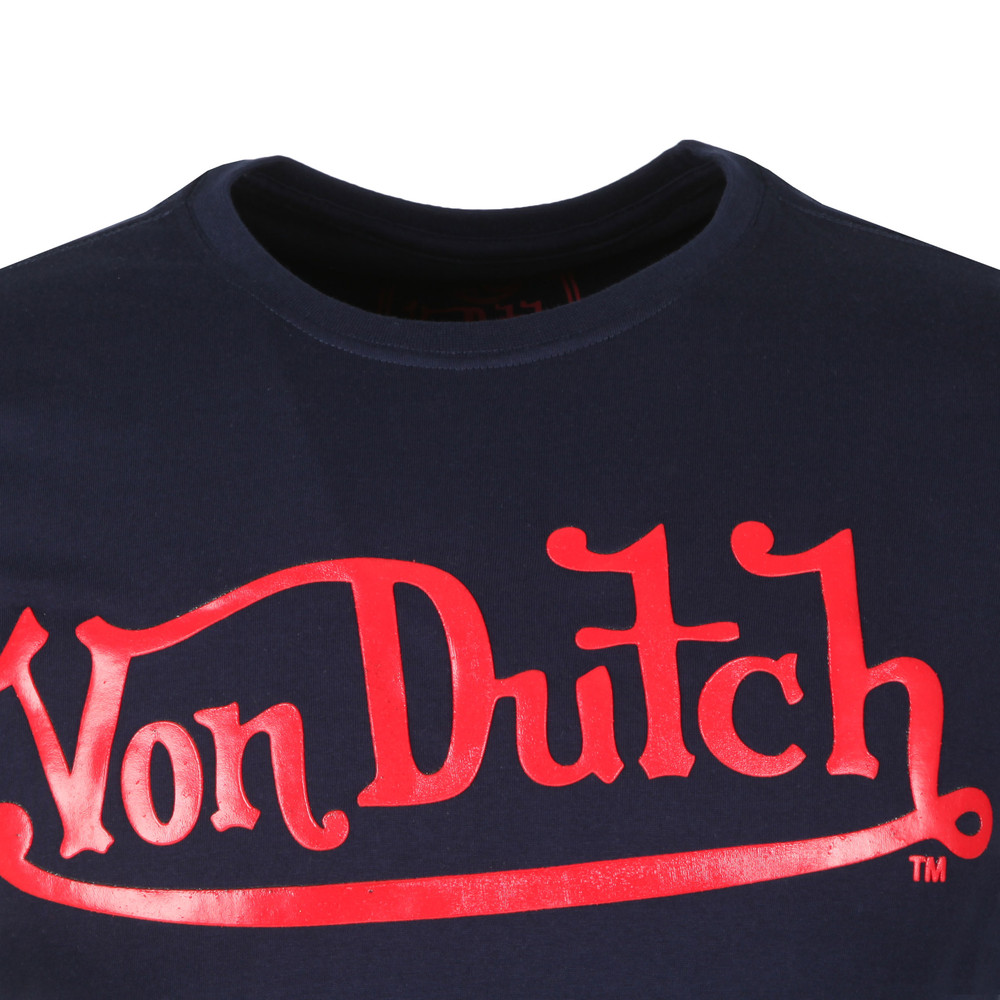 6deee836 Von Dutch Classic Logo T Shirt | Masdings