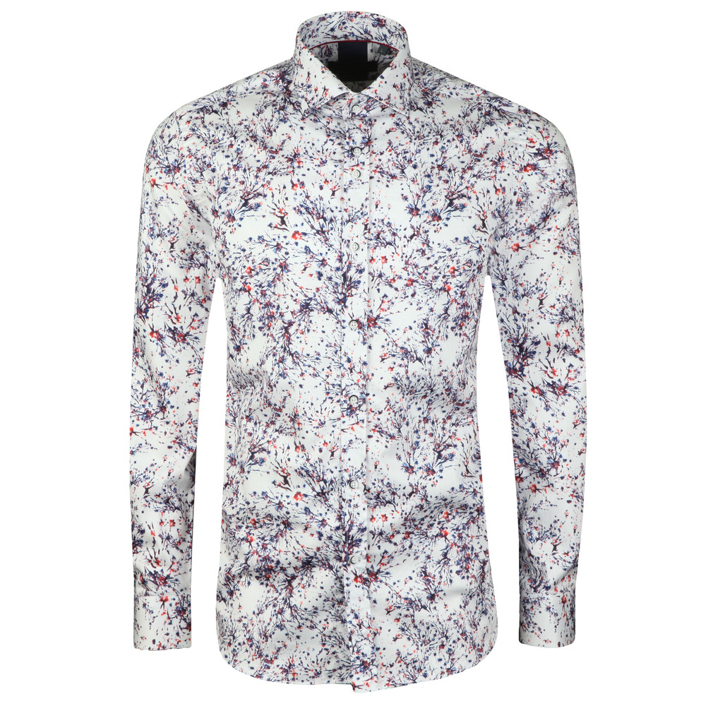 L/S Abstract Print Shirt main image