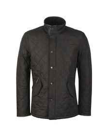 Barbour Lifestyle Mens Black Powell Quilted Jacket