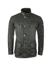 Barbour International Mens Green Duke Wax Jacket