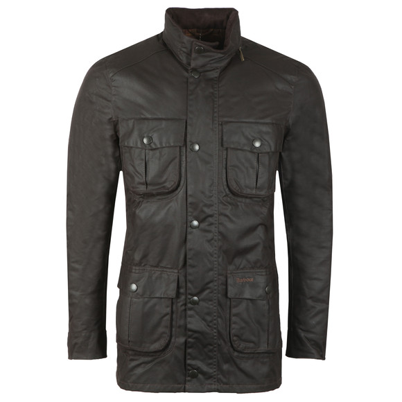 Barbour Lifestyle Mens Brown Corbridge Wax Jacket main image