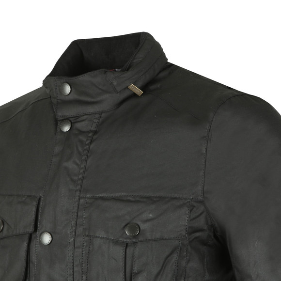 Barbour Lifestyle Mens Black Corbridge Wax Jacket