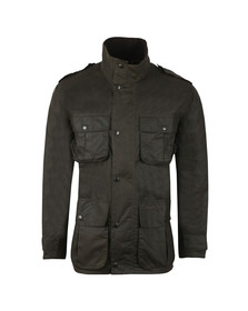 Barbour Lifestyle Mens Green Trooper Wax Jacket