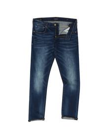 Scotch & Soda Mens Blue Skim Jean