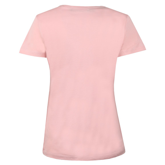 Love Moschino Womens Pink Cheerleader Logo T Shirt main image