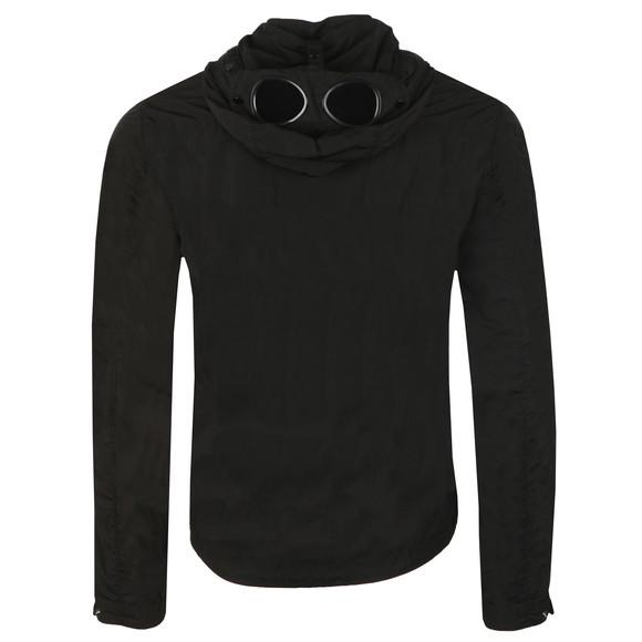 C.P. Company Mens Black Nylon Goggle Hooded Overshirt main image