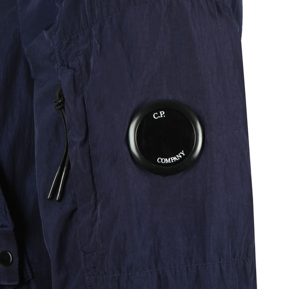 C.P. Company Mens Blue Nylon Chrome Overshirt main image