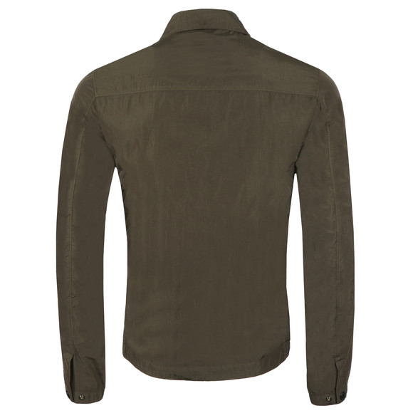 C.P. Company Mens Grey Nylon Chrome Overshirt main image