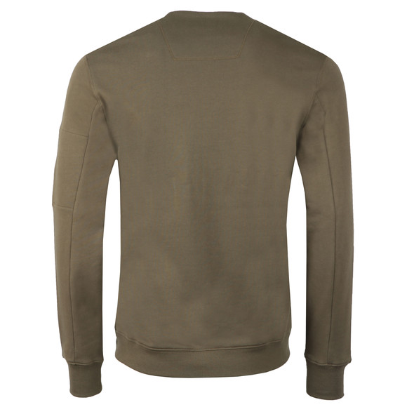 C.P. Company Mens Green Fleece Viewfinder Sweatshirt main image