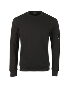 C.P. Company Mens Black Fleece Viewfinder Sweatshirt