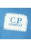 C.P. Company Mens Blue Stamp Logo T Shirt