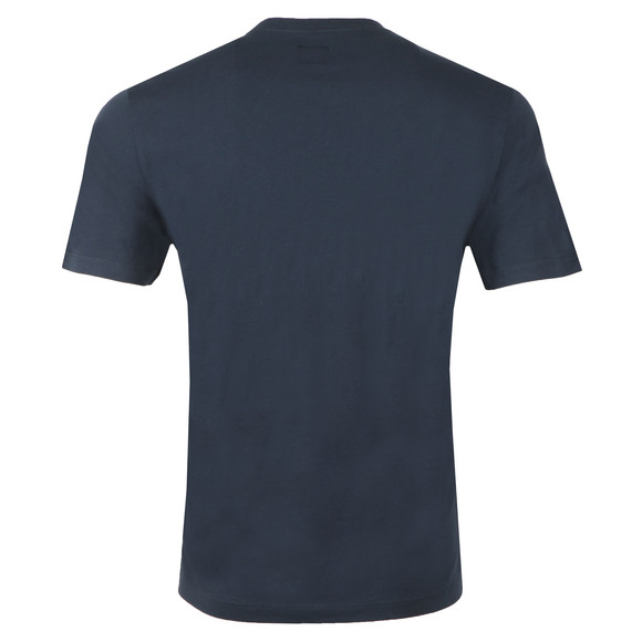 C.P. Company Mens Blue Stamp Logo T Shirt main image
