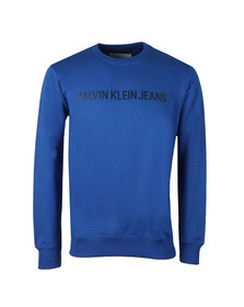 Calvin Klein Jeans Mens Blue Institutional Sweat