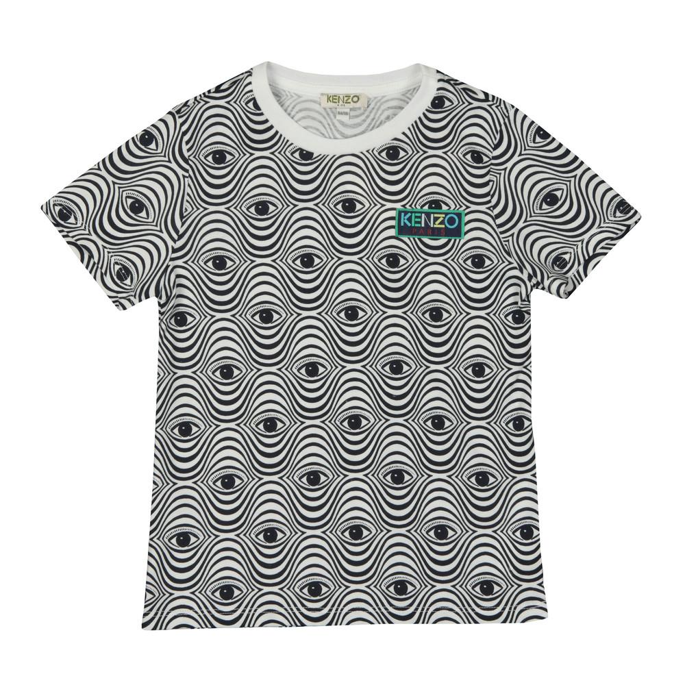 6eba43019ce5 Kenzo Kids Eyes Print T Shirt | Oxygen Clothing
