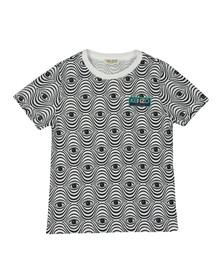 Kenzo Kids Girls White Eyes Print T Shirt