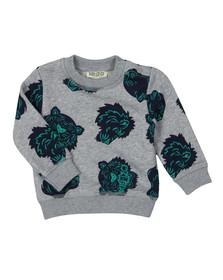 Kenzo Kids Boys Grey Baby Fergusson Hawaii Sweatshirt