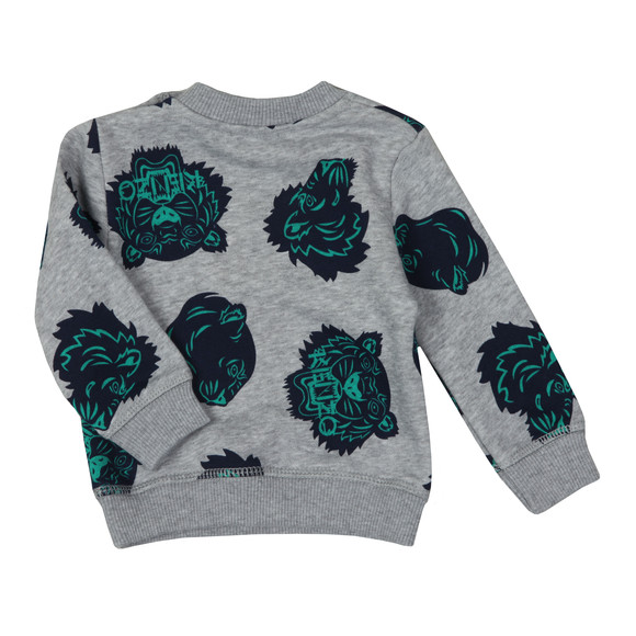 Kenzo Baby Boys Grey Fergusson Hawaii Sweatshirt main image