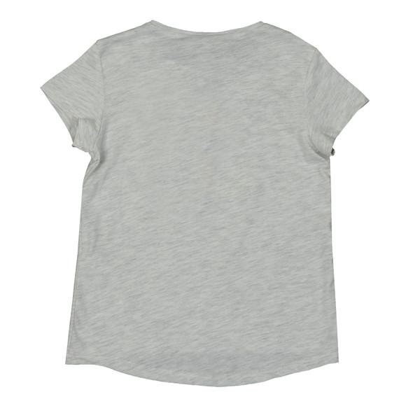 Kenzo Kids Girls Grey Printed Tiger T Shirt