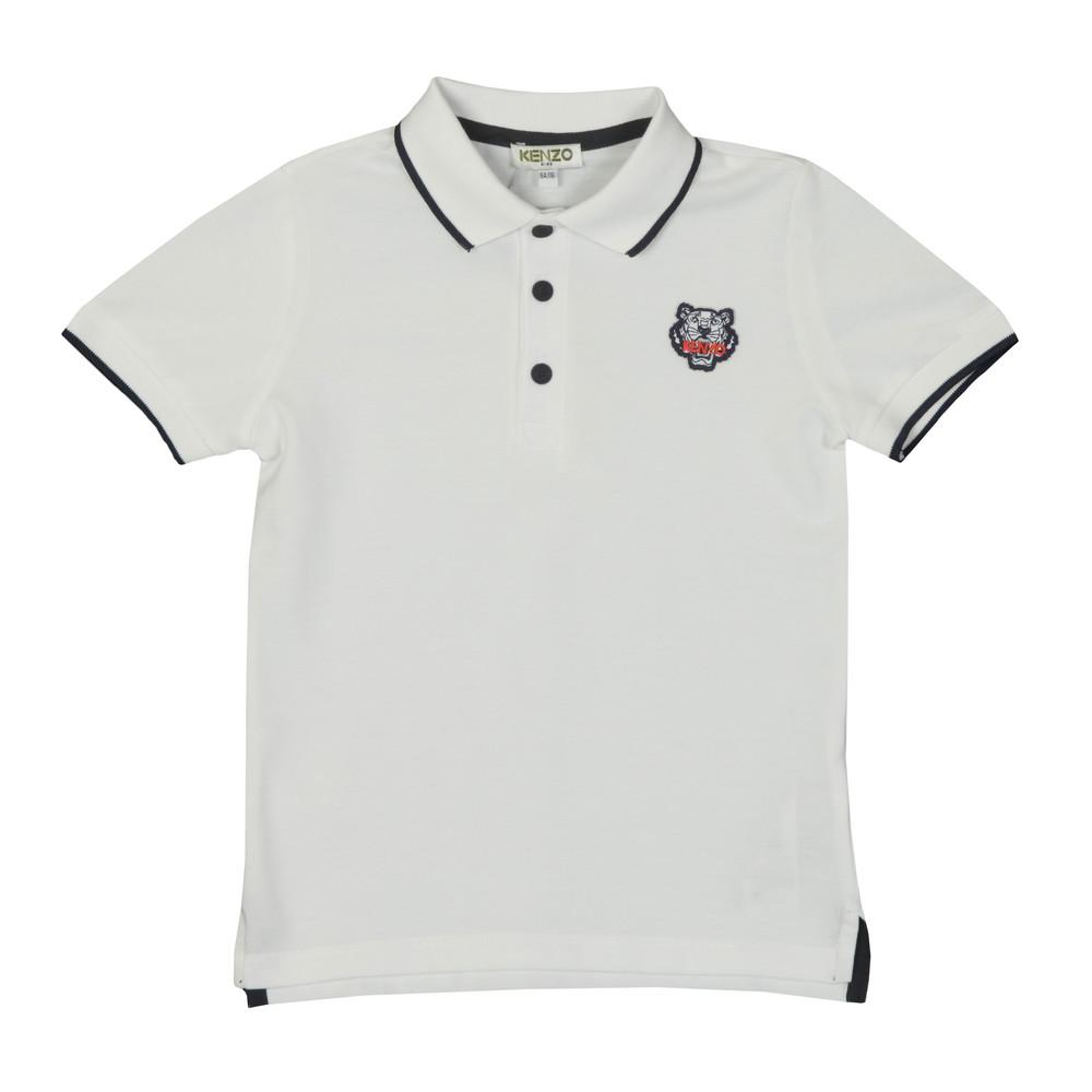 e5a276cf Kenzo Kids Tipped Logo Polo Shirt | Oxygen Clothing