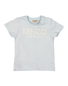 Kenzo Baby Boys Blue Logo  T Shirt