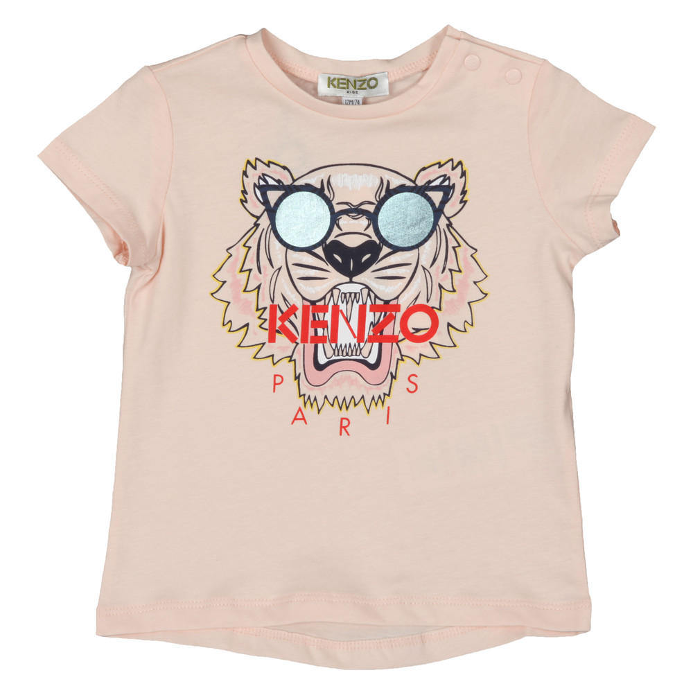 4b2debb6 Kenzo Baby Glasses Logo T Shirt | Oxygen Clothing
