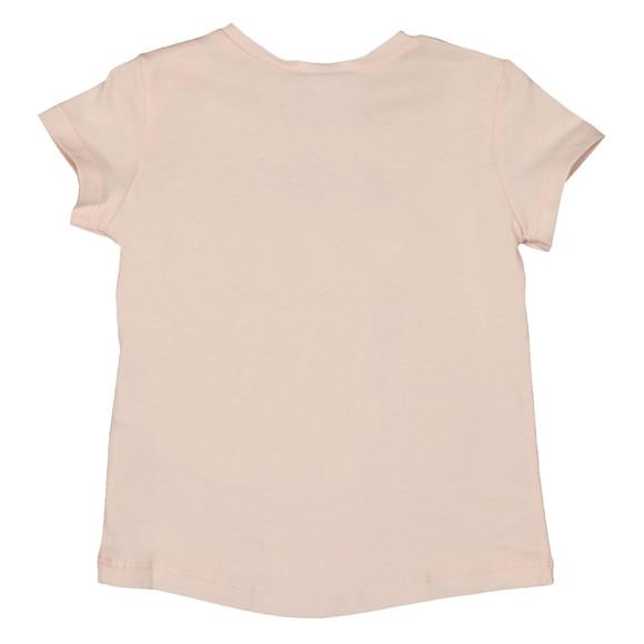 Kenzo Baby Girls Pink Glasses Logo T Shirt main image